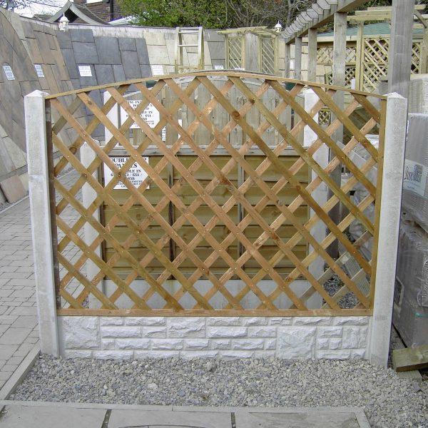 diamond trellis barkers fencing. Black Bedroom Furniture Sets. Home Design Ideas